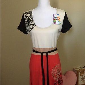 🆕 Desigual 3 Tone Dress Size L